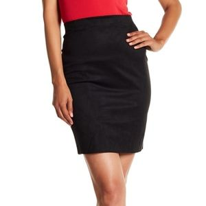 WOLFORD Augusta Faux Suede Skirt EUR 36// US 6 NWT $325